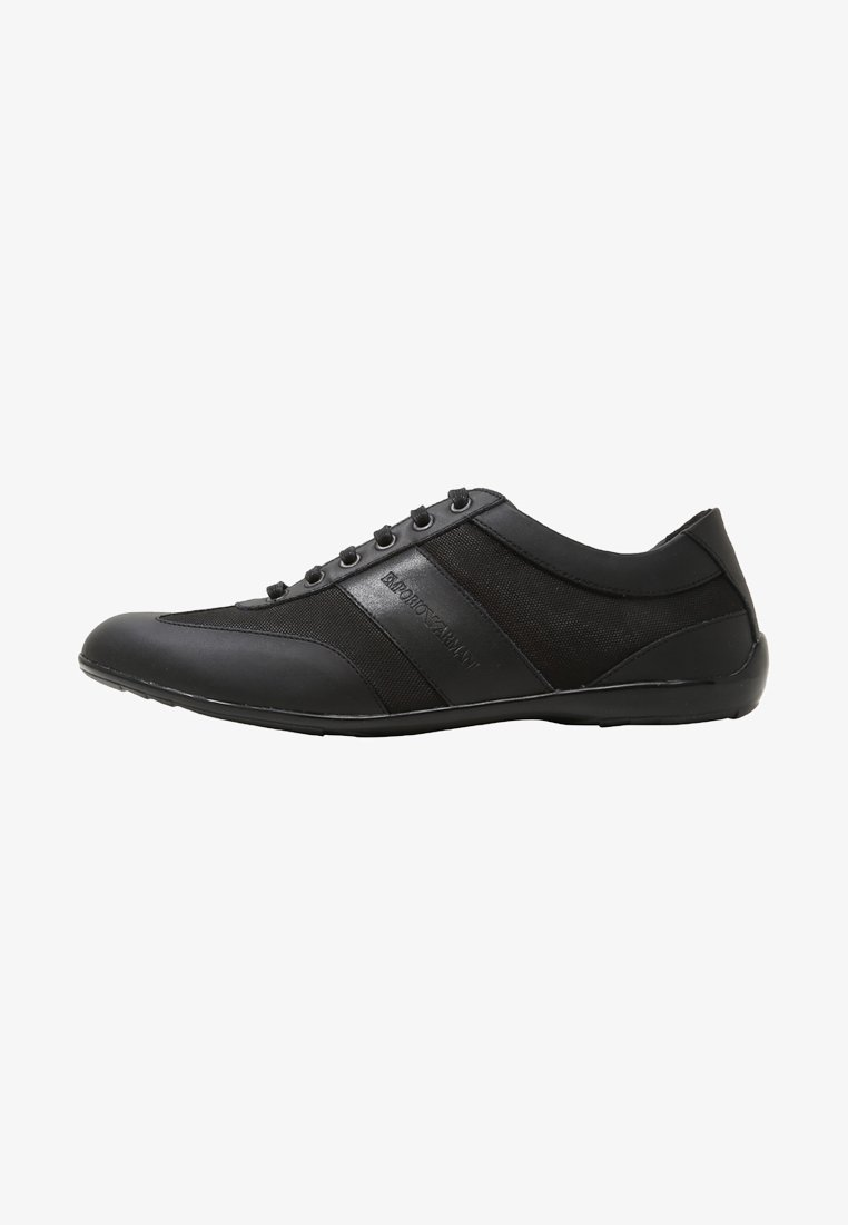 Emporio Armani - DERBY ACTION  - Trainers - black