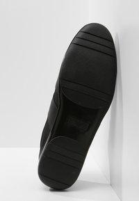 Emporio Armani - DERBY ACTION  - Sneakers - black - 4