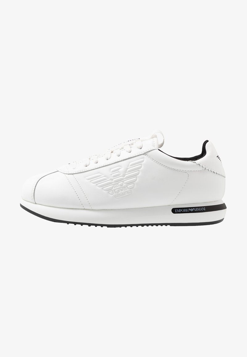 Emporio Armani - Sneakers - white/black