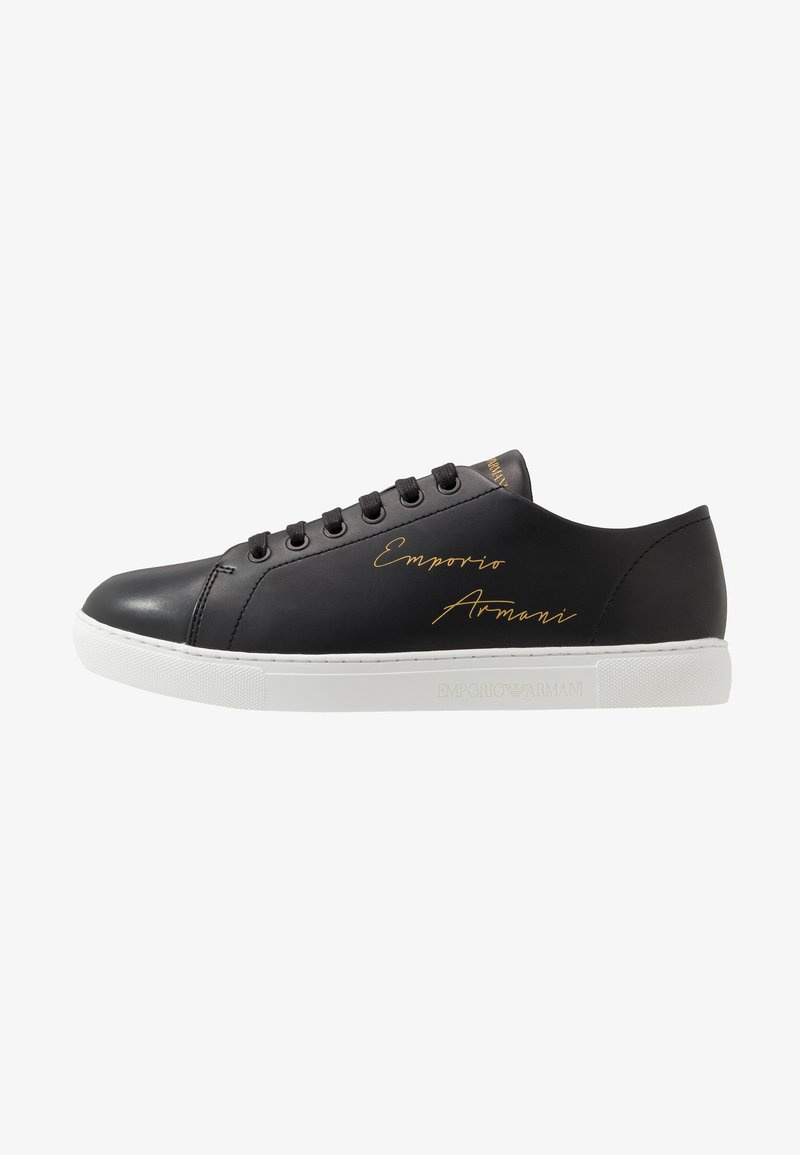 Emporio Armani - Sneakers basse - black/gold