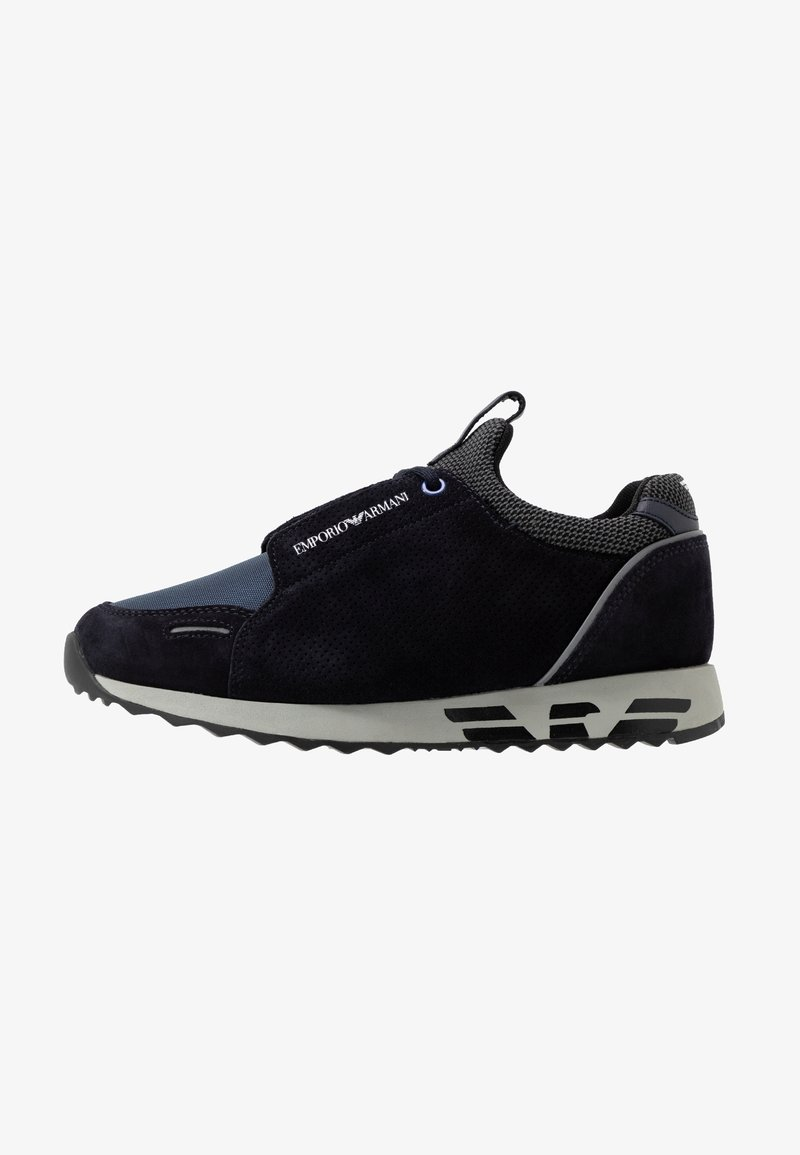 Emporio Armani - ARCO - Sneaker low - navy nuight/black