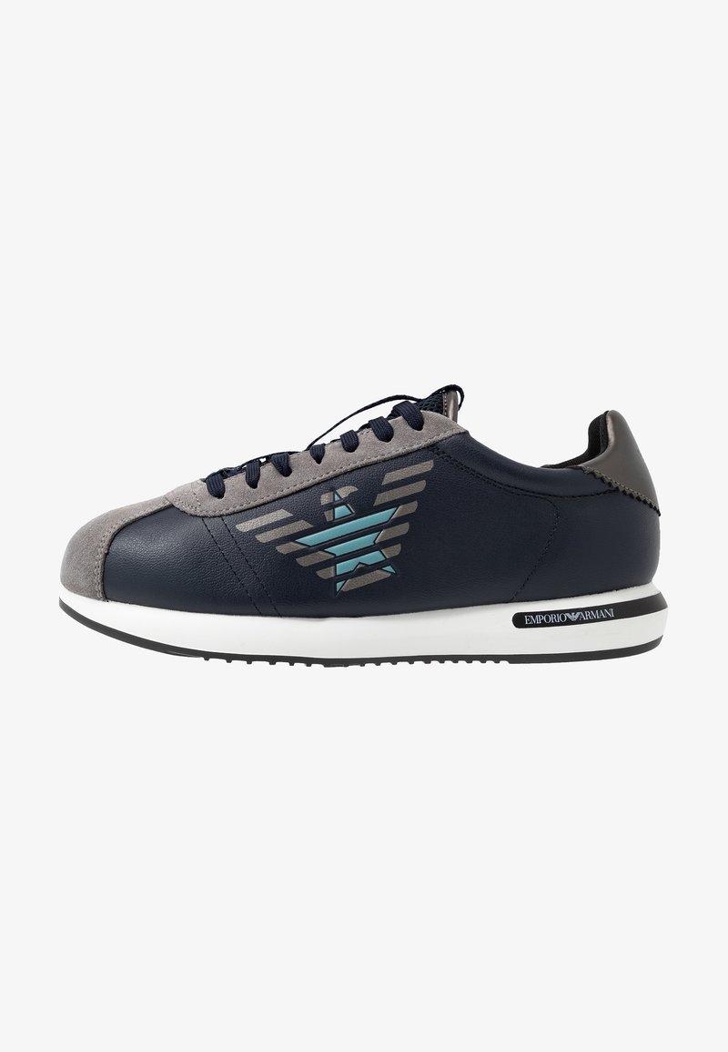 Emporio Armani - Sneakersy niskie - plume/eclipse/gunmetal
