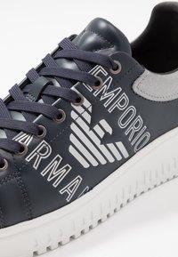 Emporio Armani - Sneakers - eclipse/silver - 5
