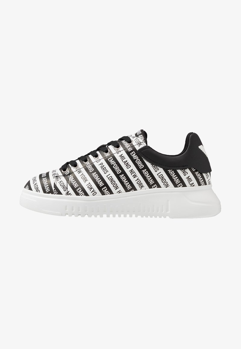 Emporio Armani - Trainers - black/white