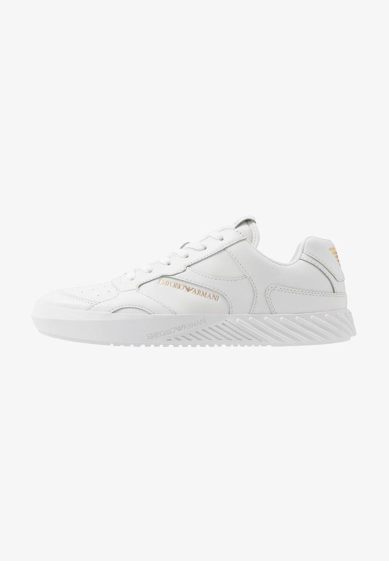 Emporio Armani - Baskets basses - white