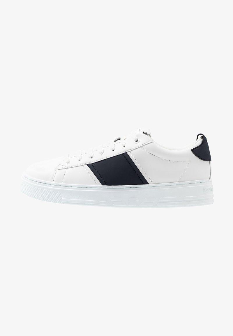 Emporio Armani - Sneakersy niskie - white/night
