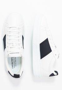 Emporio Armani - Trainers - white/night - 1
