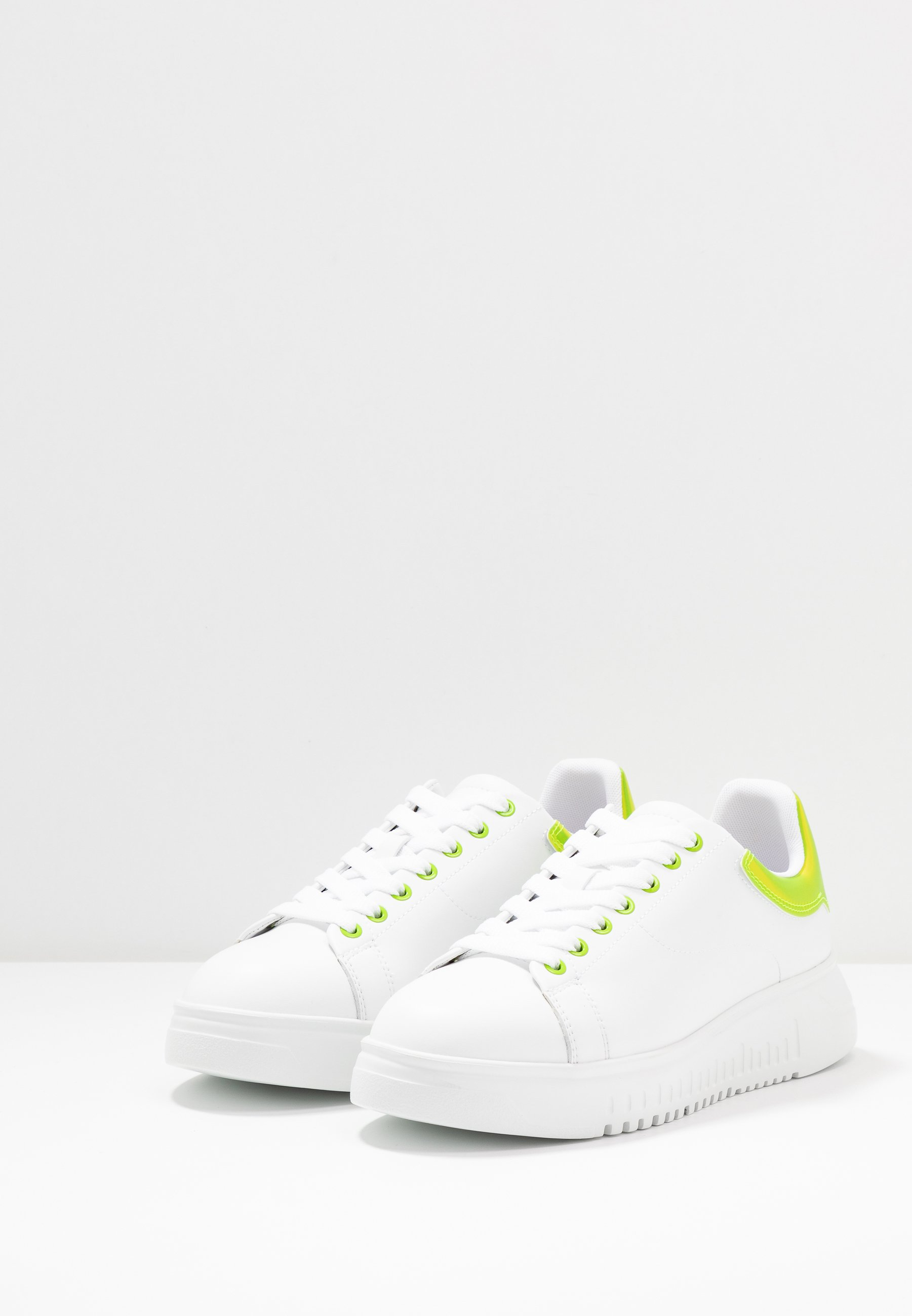 Emporio Armani Sneaker Low - Plaster/white/green Black Friday