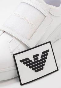 Emporio Armani - Trainers - white/black - 5