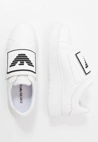 Emporio Armani - Trainers - white/black - 1