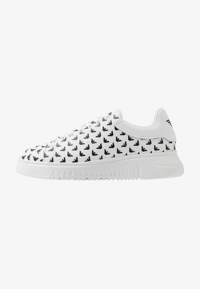 Emporio Armani - Trainers - optic white/white/black