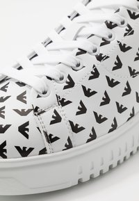 Emporio Armani - Trainers - optic white/white/black - 5