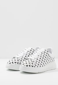 Emporio Armani - Trainers - optic white/white/black - 2