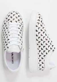 Emporio Armani - Trainers - optic white/white/black - 1