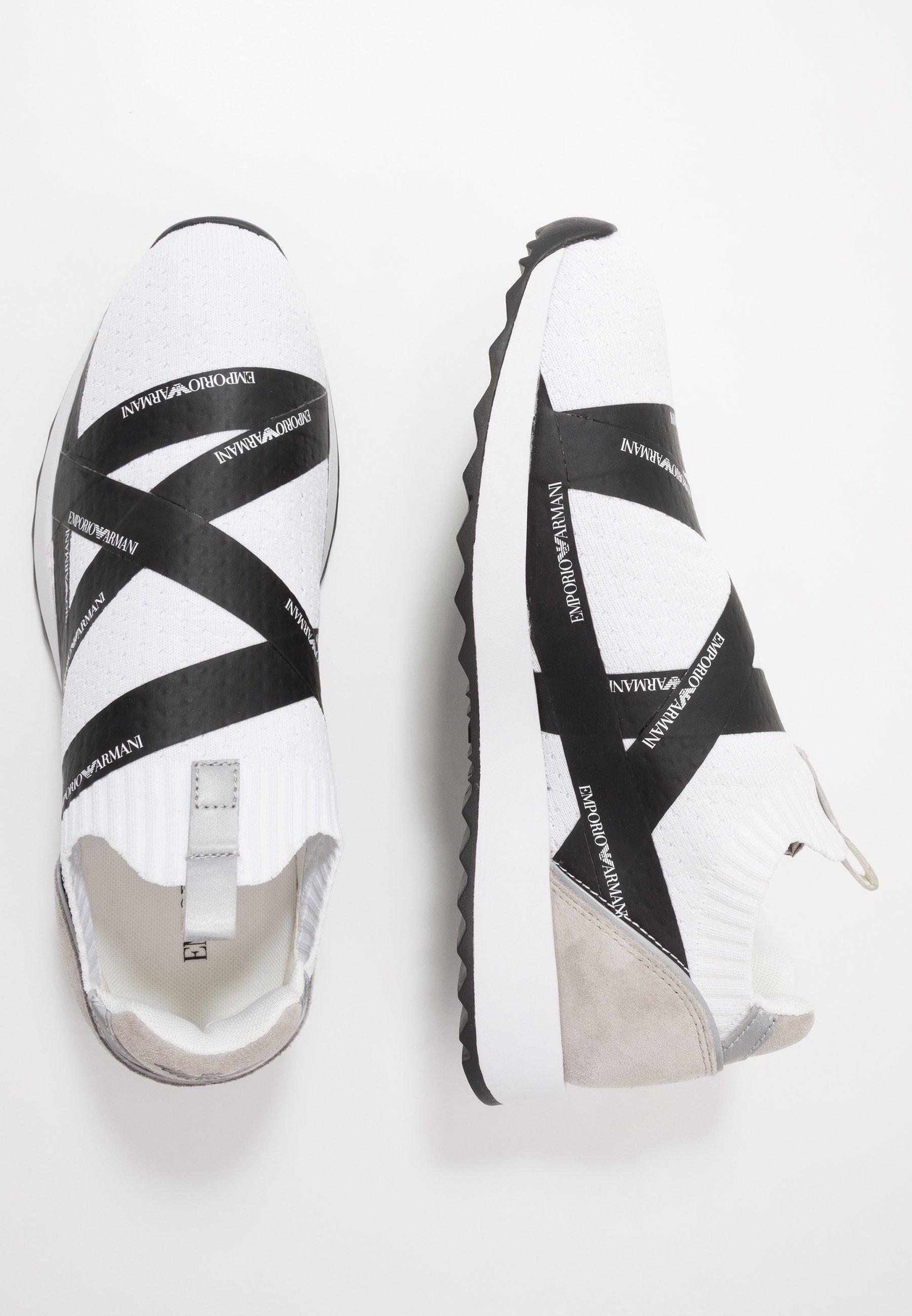 Emporio Armani Sneakers - white/black