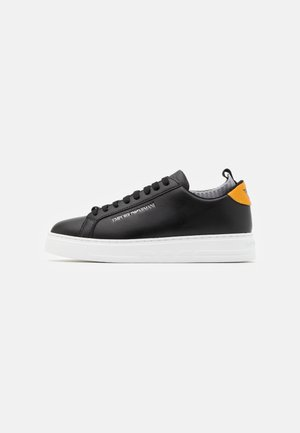 Sneaker low - black/ochra/grey