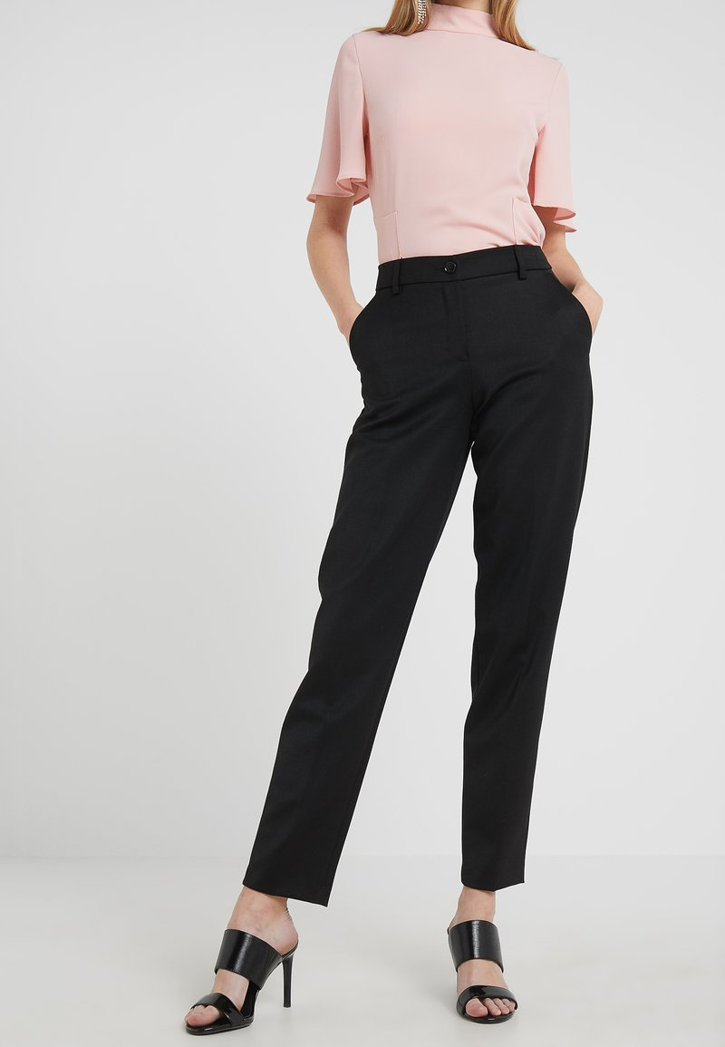 Emporio Armani - Trousers - nero