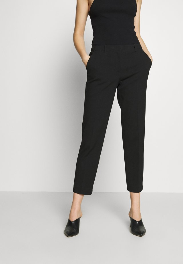 TROUSER - Pantaloni - black