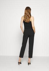 Emporio Armani - TROUSER - Trousers - black - 2