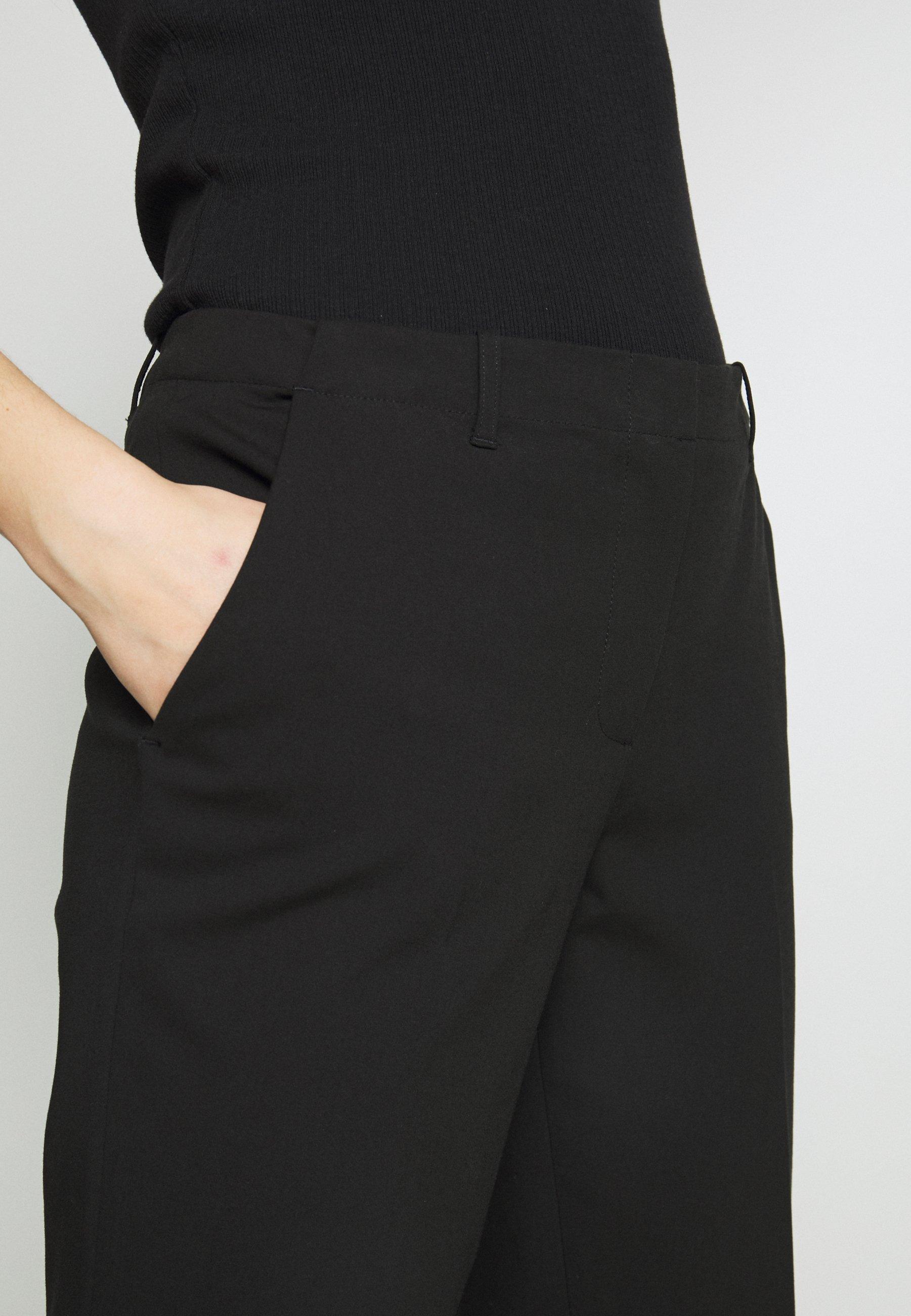 Emporio Armani Trouser - Trousers Black