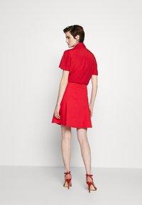 Emporio Armani - SKIRT - A-line skirt - rosso - 2