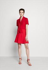 Emporio Armani - SKIRT - A-line skirt - rosso - 1