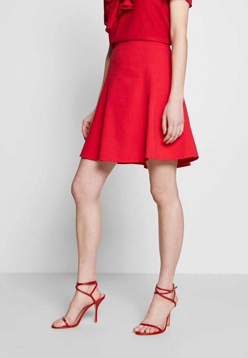 Emporio Armani - SKIRT - A-line skirt - rosso