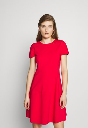 DRESS - Day dress - red