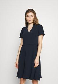Emporio Armani - DRESS - Day dress - navy - 0