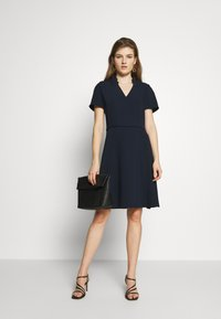 Emporio Armani - DRESS - Day dress - navy - 1