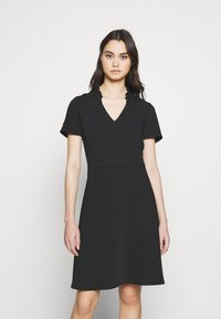 Emporio Armani - DRESS - Day dress - black - 0