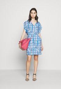Emporio Armani - DRESS - Day dress - blue - 1