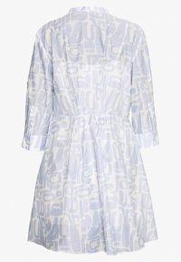 Emporio Armani - DRESS - Košilové šaty - blue - 1