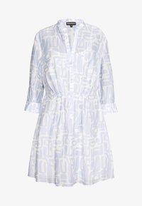 Emporio Armani - DRESS - Košilové šaty - blue - 0