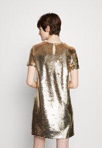Emporio Armani - DRESS - Cocktail dress / Party dress - gold - 2