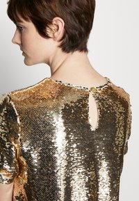 Emporio Armani - DRESS - Cocktail dress / Party dress - gold - 5
