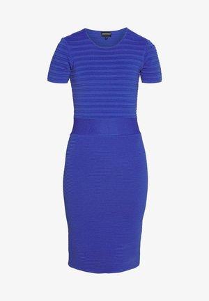DRESS - Shift dress - blue