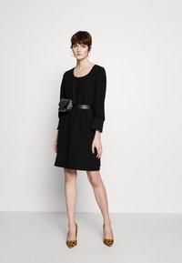 Emporio Armani - DRESS - Day dress - black - 1