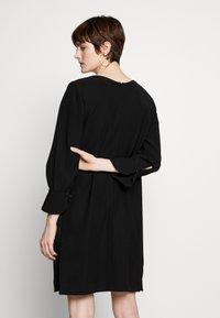 Emporio Armani - DRESS - Day dress - black - 2