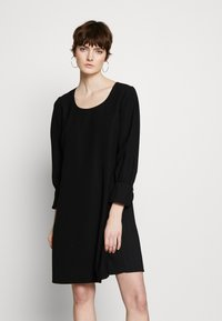Emporio Armani - DRESS - Day dress - black - 0