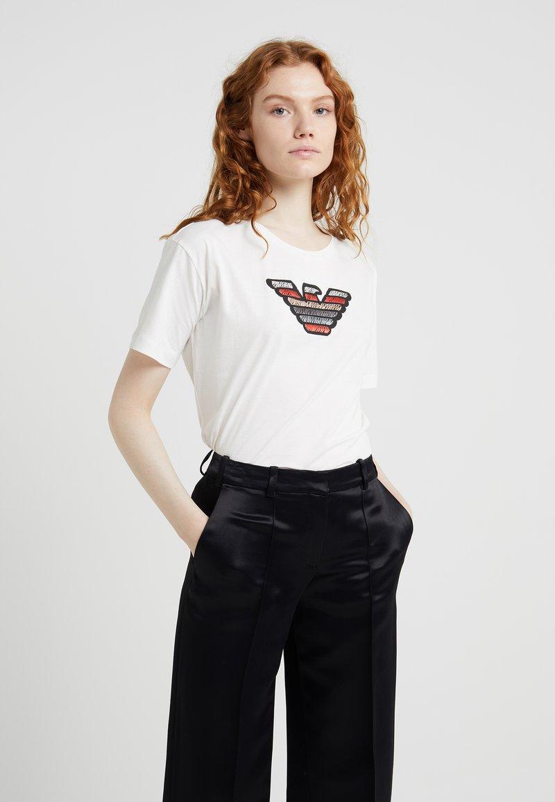 Emporio Armani - T-Shirt print - white