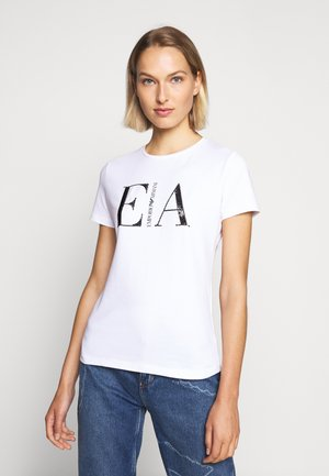 T-shirts med print - white/black