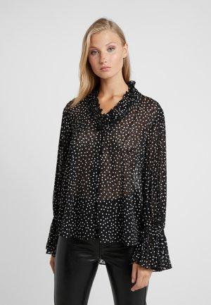 Button-down blouse - fant nera