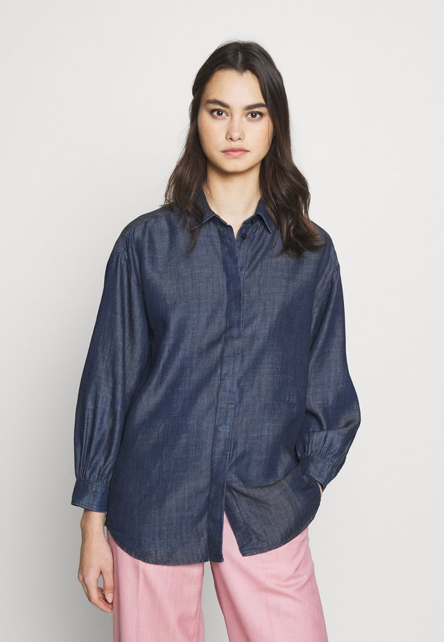 Overhemdblouse - blue denim
