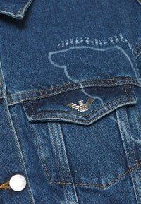 Emporio Armani - BLOUSON JACKET - Džínová bunda - blue denim - 2