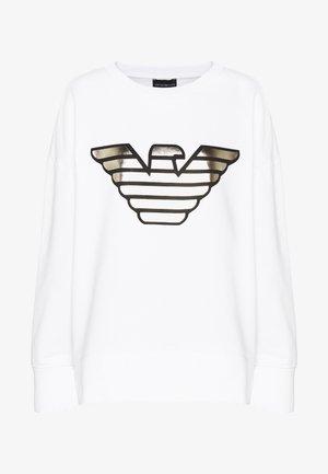 Sweatshirt - bianco