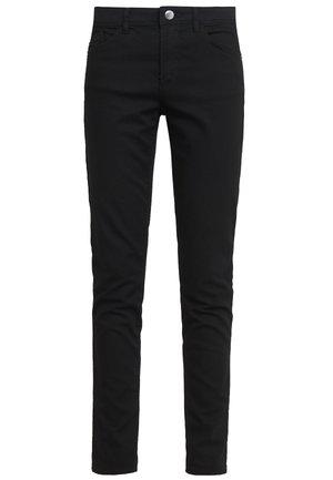 Trousers - denim nero