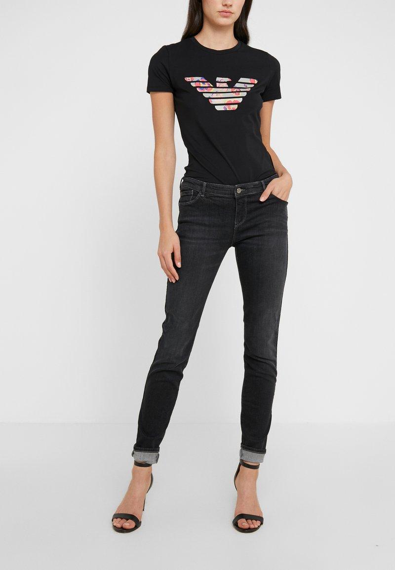 Emporio Armani - Jeans Skinny - denim nero