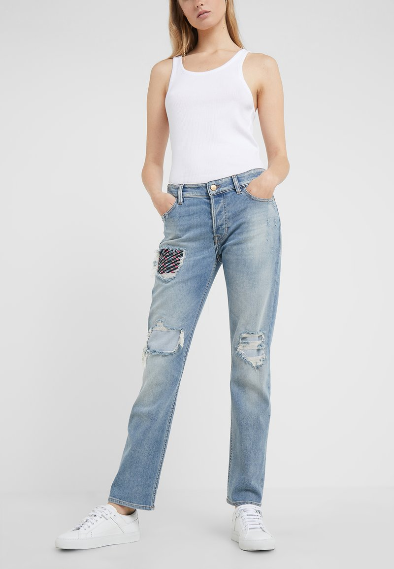Emporio Armani - Relaxed fit jeans - denim blu
