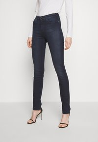 Emporio Armani - POCKETS PANT - Jeans Skinny Fit - dark blue denim - 0